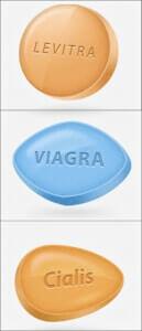 Levitra, Viagra, Cialis