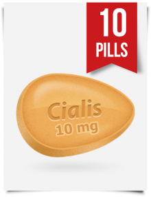 Generic Cialis 10 mg Daily x 10 Tabs