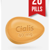 Generic Cialis 40 mg 20 Tabs