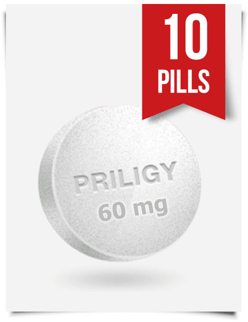 Generic Priligy Dapoxetine 60 mg x 10 Tabs