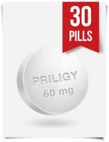 Generic Priligy Dapoxetine 60 mg x 30 Tabs