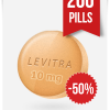 Generic Levitra 10 mg Daily x 200 Tabs