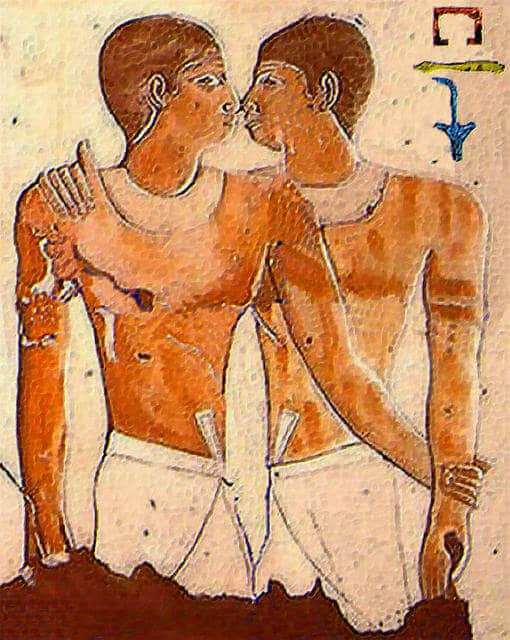Niankhkhnum Khnumhotep One of the oldest gay romances in history