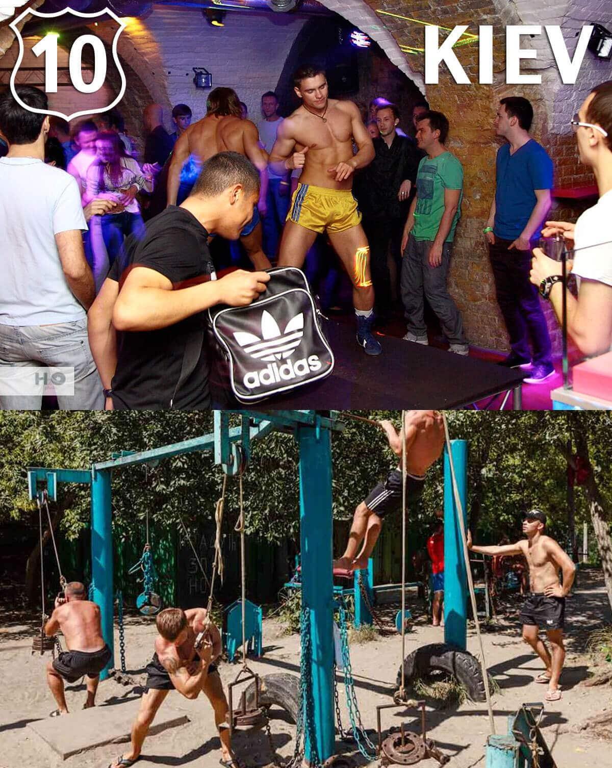 Top 10 Gay Destinations 2015 Kiev