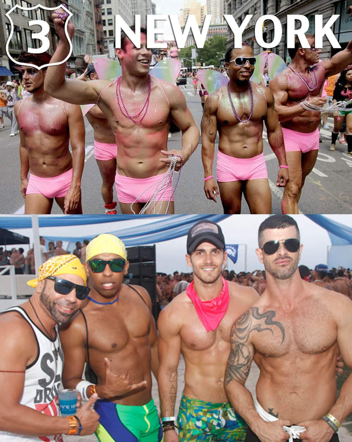 Top 10 Gay Destinations 2015 New York City NYC