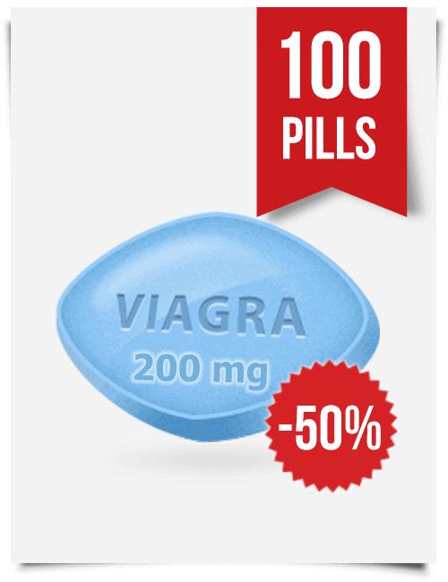 Generic Viagra 200 mg x 100 Tabs