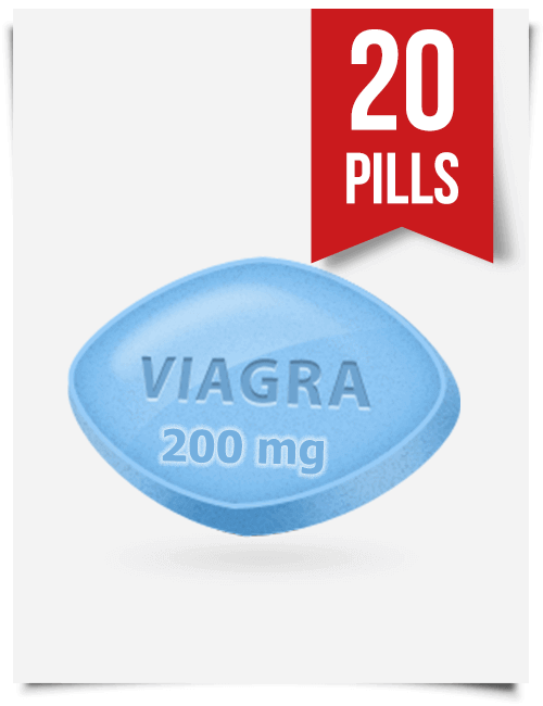 Generic Viagra 200 mg x 20 Tabs