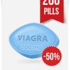 Generic Viagra 200 mg x 200 Tabs | ViaBestBuy