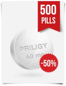Generic Priligy Dapoxetine 60 mg x 500 Tabs