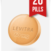 Generic Levitra 60 mg x 20 Tabs