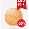 Generic Levitra 60 mg x 200 Tabs