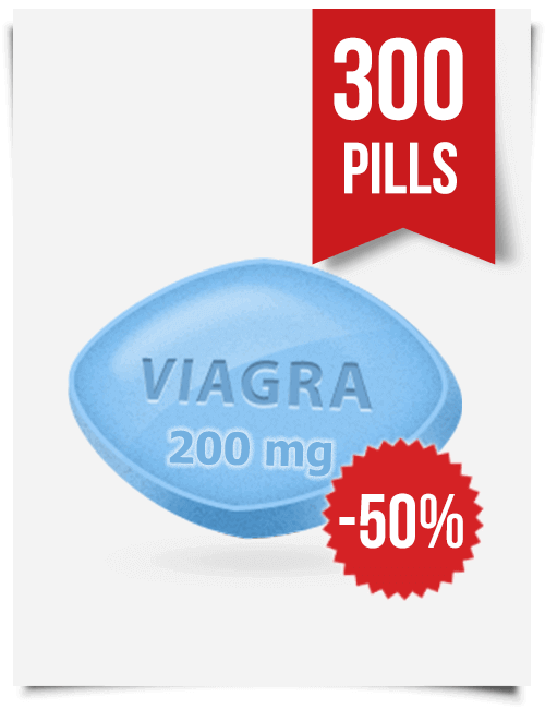 Generic Viagra 200 mg x 300 Tabs