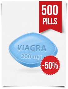 Generic Viagra 200 mg x 500 Tabs