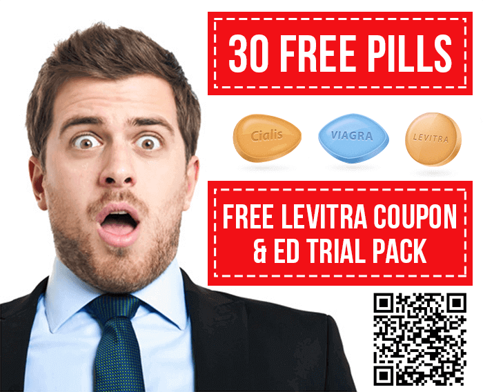Free Levitra Coupon & ED Trial Pack 30 Pills