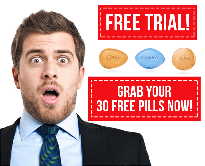 Free Viagra Trial Coupon – Get 30 free ED tablets pack by mail