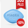 Generic Viagra 50 mg Daily x 300 Tabs