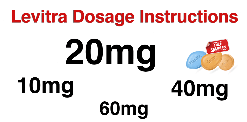 Levitra Dosage Instructions. Levitra 20 mg Dosing Information