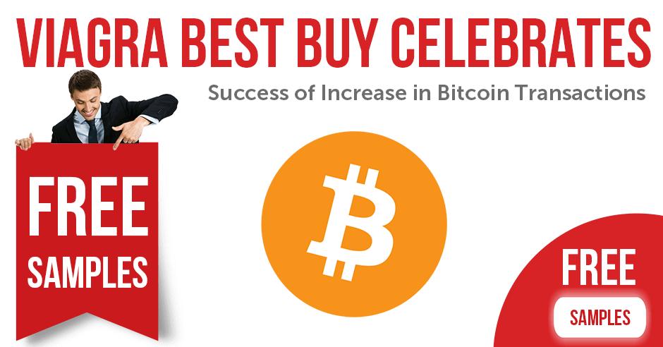 Viagra Celebrates Success of Increase in Bitcoin Transactions