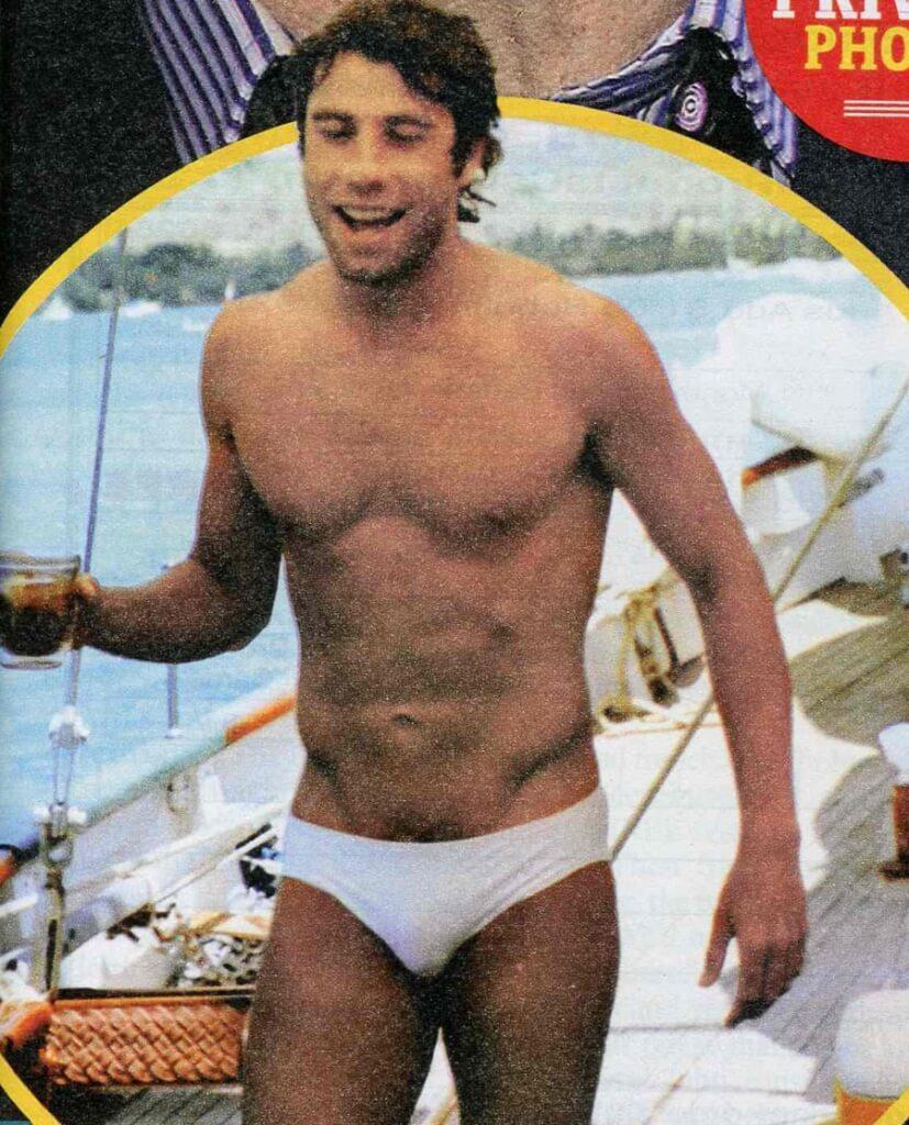 Young John Travolta Gay Underwear