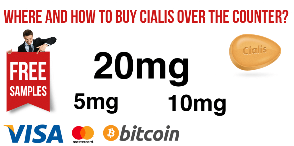 Where and How to Buy Cialis Over the Counter?