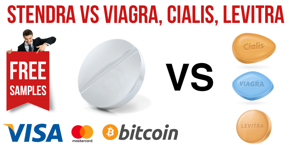 Stendra VS Viagra, Cialis, Levitra