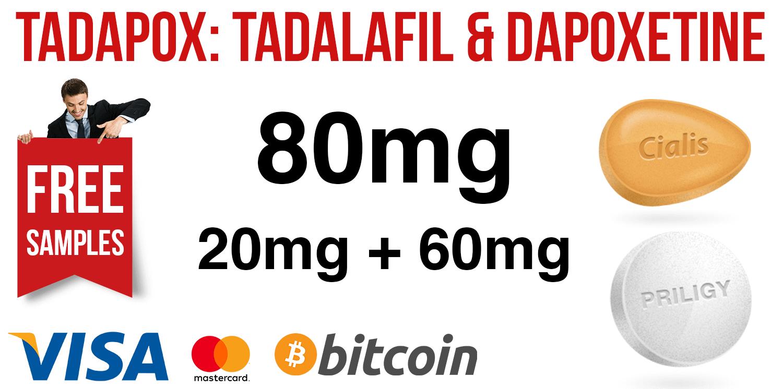 Tadapox: Tadalafil & Dapoxetine
