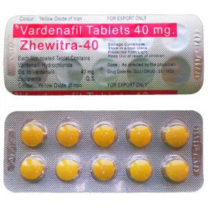 Zhewitra vardenafil 40 mg