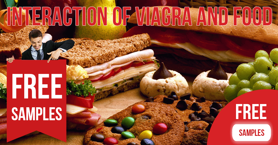 Interaction of Viagra and Food