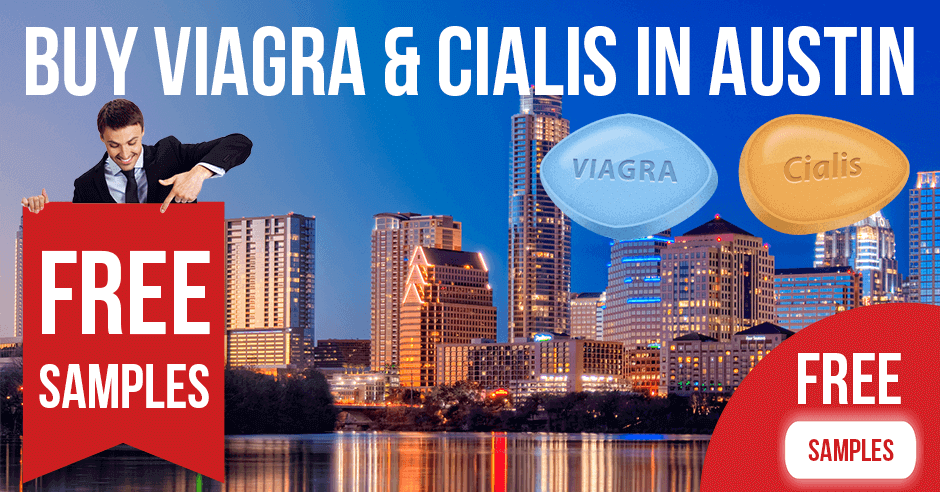 Buy Viagra and Cialis in Austin