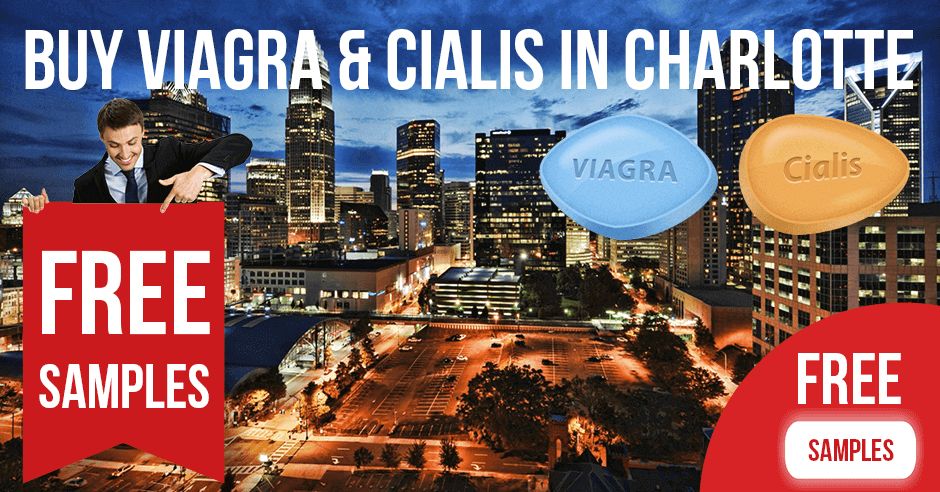 Buy Viagra and Cialis in Charlotte, North Carolina