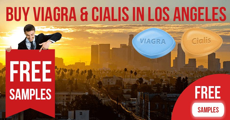 Buy Viagra and Cialis in Los Angeles, California