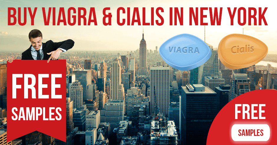Buy Viagra and Cialis in New York