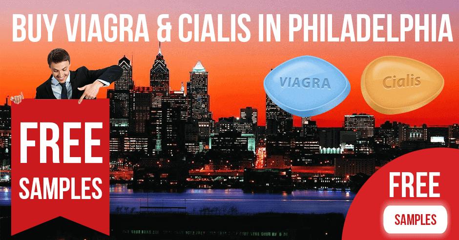 Buy Viagra and Cialis in Philadelphia, Pennsylvania