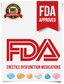 Erectile dysfunction FDA approved tabs