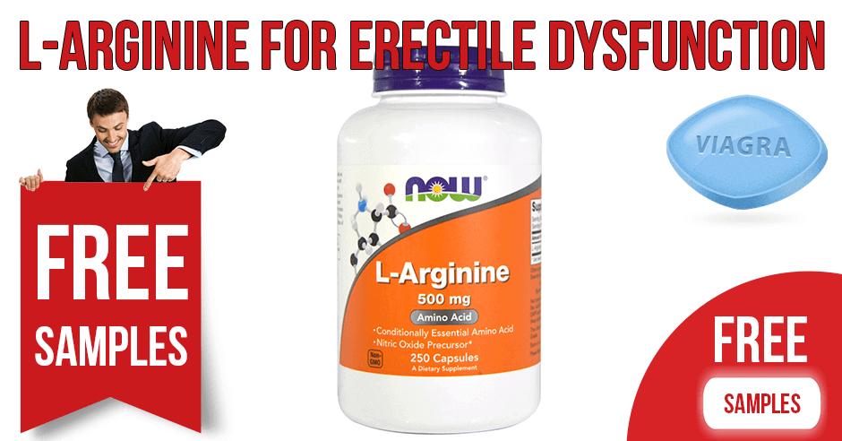 L-Arginine for Erectile Dysfunction