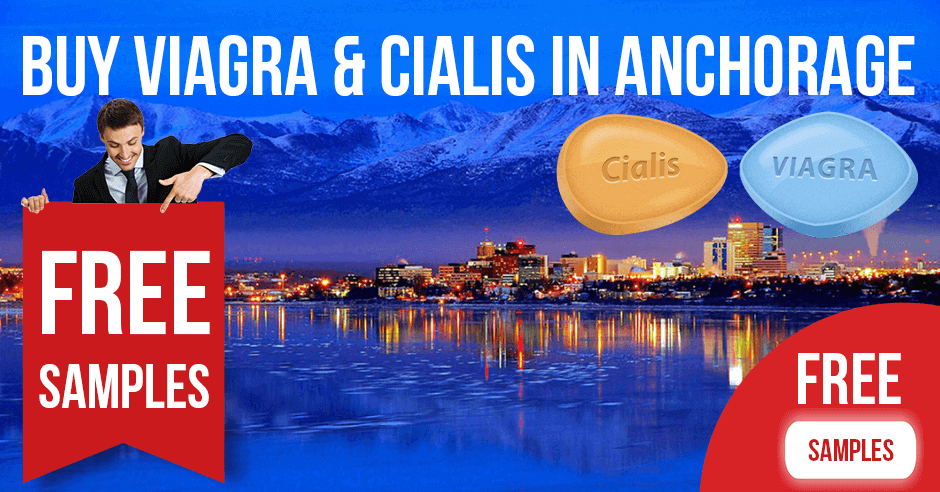 Buy Viagra and Cialis in Anchorage, Alaska