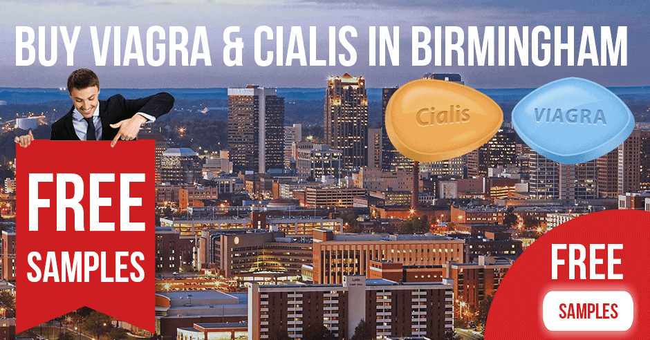 Buy Viagra and Cialis in Birmingham, Alabama