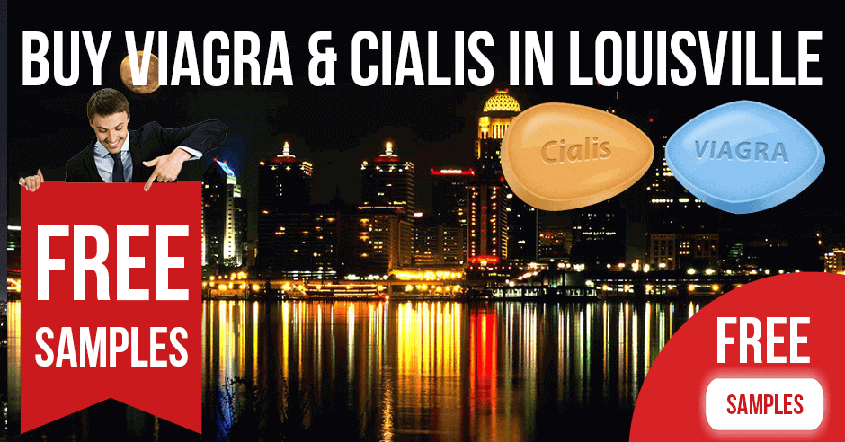 Buy Viagra and Cialis in Louisville, Kentucky