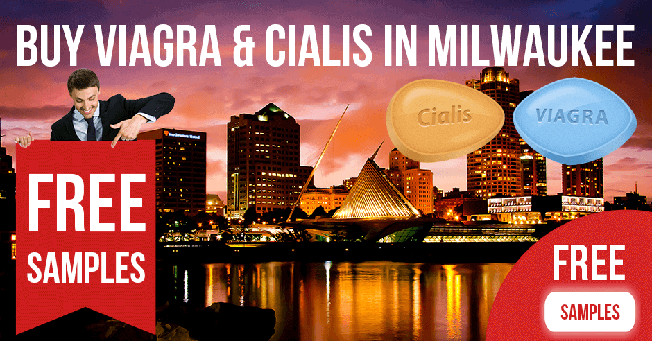 Buy Viagra and Cialis in Milwaukee, Wisconsin