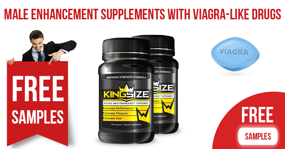 Male Enhancement Supplements with Viagra-Like Drugs