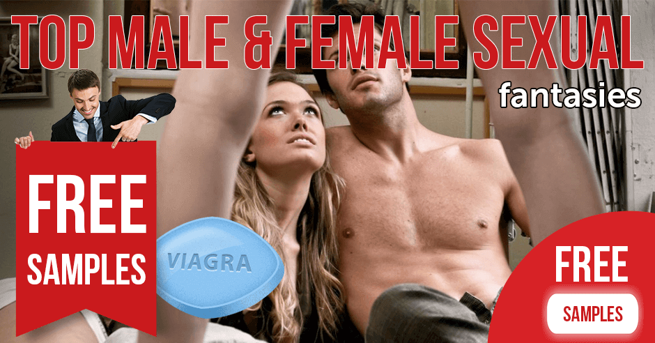 Top male and female sexual fantasies