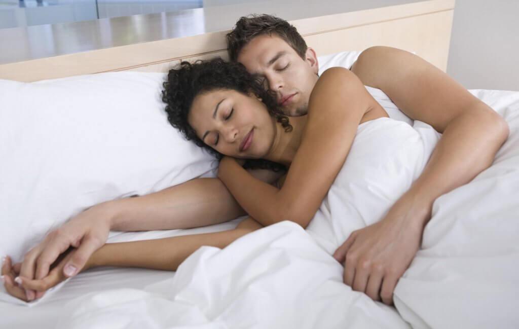 Sleep after sex