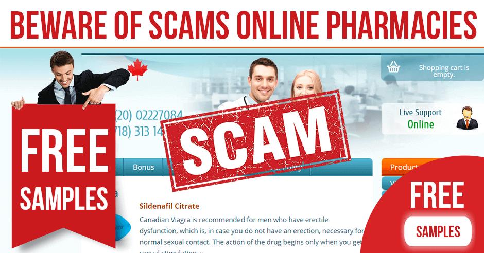 Beware of Scams Online Pharmacies