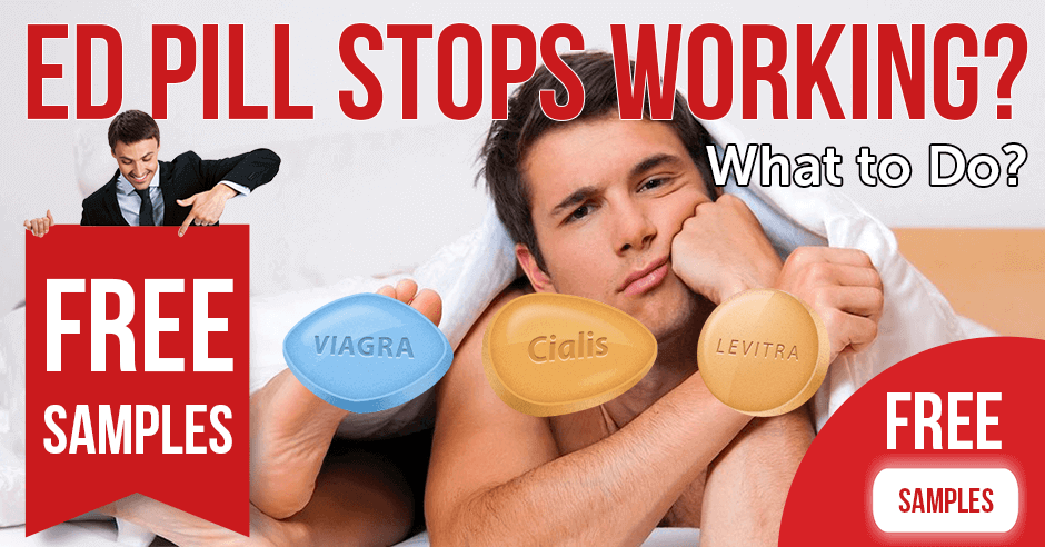 What to do when ED pill stops working