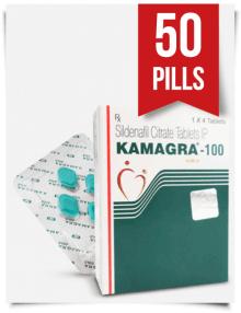 Kamagra 100 mg x 50 Tabs