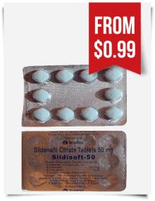 Sildisoft Sildenafil 50 mg