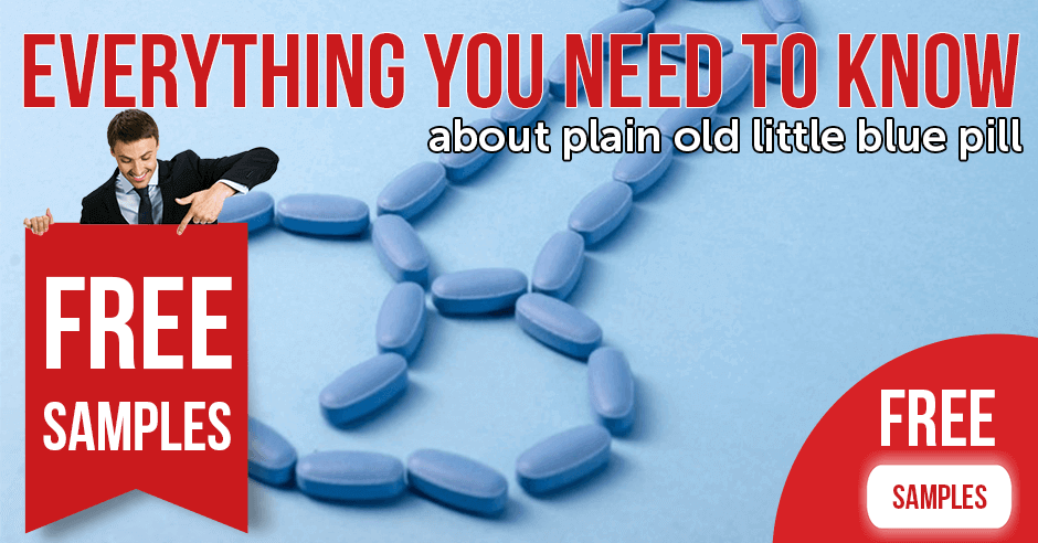 Everything you need to know about plain old little blue pill