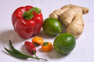Food rich in vitamin C