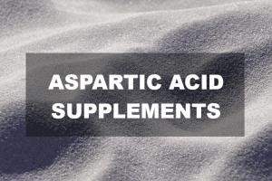 Aspartic acid supplements