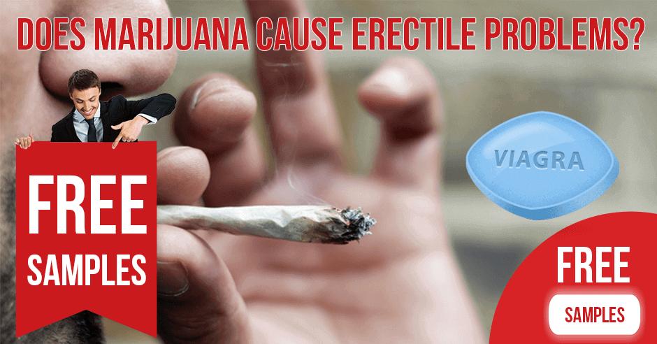 Does marijuana cause erectile problems